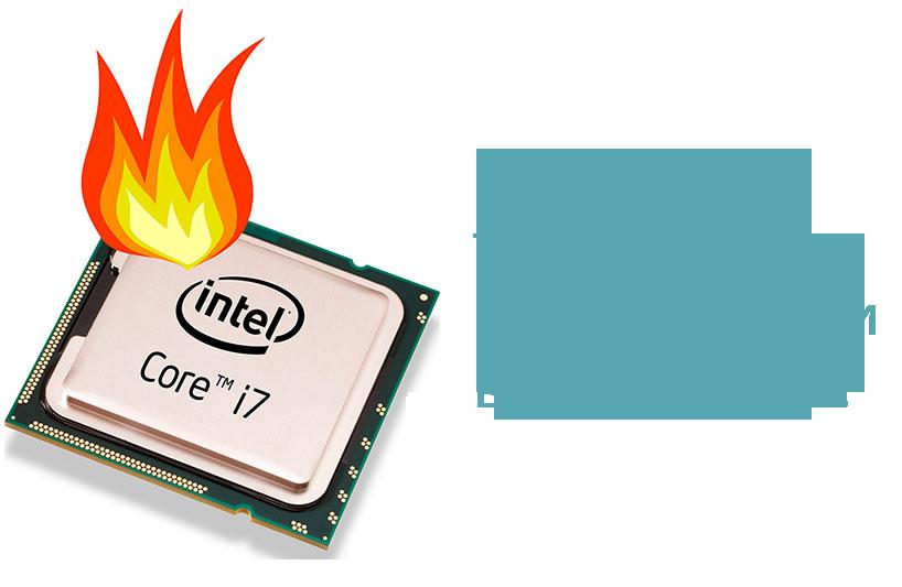 Тест процессора на перегрев