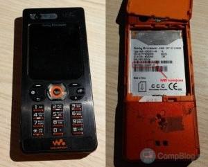 Sony W880i IMEI